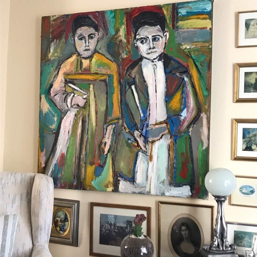 Two Schoolboys From Van Cyprus